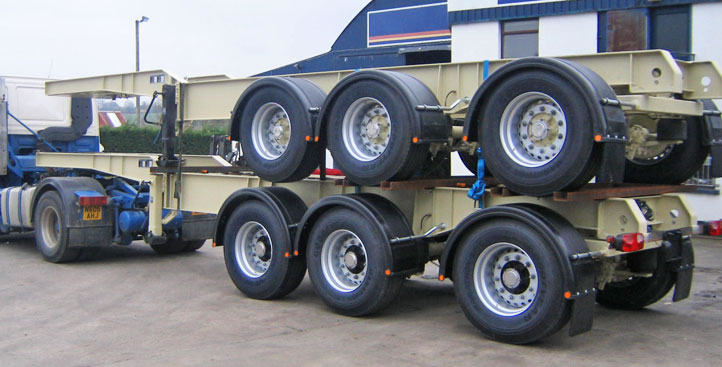 Muldoon Transport Systems - Chassis Trailer